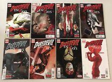 Daredevil End of Days #1 2 3 4 5 6 7 8 Marvel Bendis Comic Book Set 1-8 Complete