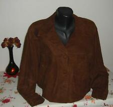 ESCADA by Margaretha Ley / vintage WOMENS (LADIES) long leather Jacket. SIZE: 42