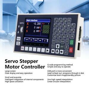 4 Achsen CNC Steuerung LCD Servo Schrittmotor Set Control CNC Bewegungssteuerung