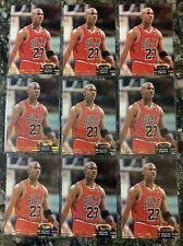 (9) 1992-93 STADIUM CLUB MICHAEL JORDAN MEMBER'S CHOICE LOT *PACK FRESH NM-MT*