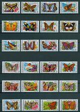 Rumänien 1991 Mi.4716-39 ** Schmetterlinge,Falter,Butterfly,Farfalla,Mariposa