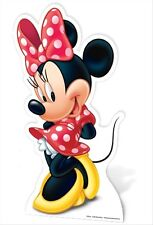 Minnie Mouse Mickey's Friend Official Disney Cardboard Cutout -For your Party