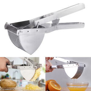 New Large Stainless Ricer Masher Fruit Potato Steel Press Juicer Crusher Squeeze