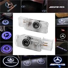 Para Mercedes Benz CREE LED Proyector Luces de puerta de coche entrada Charco Luz De Cortesía