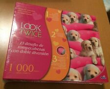 Look Twice 1000 Piece Puzzle Puppies For Sale (See Description)