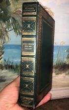 How Green Is My Valley Macmillan Press 1940 Richard Llewellyn Itnl Collectors