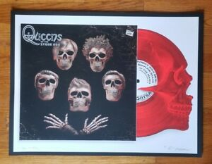 Queens of the Stone Age Emek Philadelphia poster 2014 AP #38/100 signed by Emek