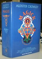 MAGICK, BOOK 4, LIBER ABA, by ALEISTER CROWLEY, SIGNED by HYMENAEUS BETA, OCCULT