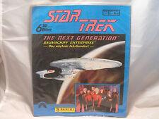 STAR TREK THE NEXT GENERATION AUFKLEBER-ALBUM PRODUZIERT VON PANINI