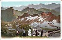 1910 Rochers De Naye Switzerland Panorama 2826  Montreux Villeneuve Postcard BR