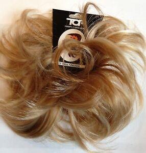 Hair Scrunchie Wrap Hairpiece Messy Bun Updo ponytail Golden Blonde Mix Medium