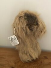 More details for soft coated wheaten terrier dog plush golf club cover - rare item