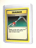 MAINTENANCE - Base Set - 83/102 - Uncommon - Pokemon Card - Unlimited - NM
