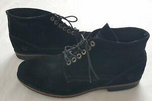 Men's G-Star Size UK 10 Black Laced Shoes