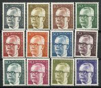 Berlino 1970 Mi. 359-370 Nuovo ** 100% Presidente