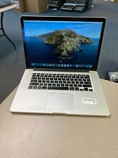 "Apple MacBook Pro 15"" Retina (Mid 2012) - i7 2.6GHz 8GB 256GB - Service Battry"