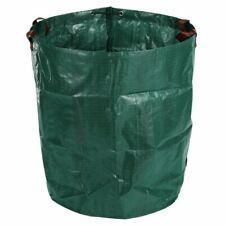 Sac de dechets de jardin 270L Grand sac d'herbe a ordures pliable robust re S2V9