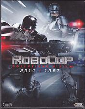 2 Blu-ray Box Cofanetto **ROBOCOP ♦ COLLEZIONE 2 FILM 2014 + 1987** nuovo