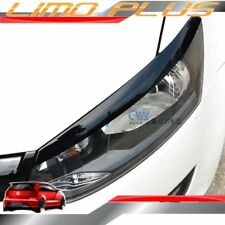 Shiny Black Head Light Eyelid Trims for VW POLO Mk5 6C 6R 2009 - 2016 vw56