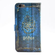 Harry Potter Diary Planner Journal Leather Wallet Card Case For iphone 6 Plus