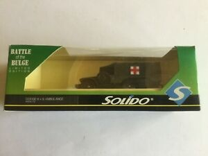 SOLIDO 4494/72 BATTLE OF THE BULGE (50th ANNIVERSARY) DODGE 6 X 6 AMBULANCE NEW