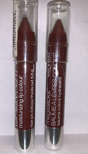 Wet n Wild Megaslicks Balm Stain Lip Color #162A Truffle in Paradise Lot Of 2