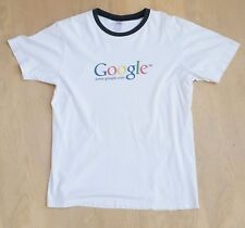 Google I'm Feeling Lucky! old logo employee T-Shirt by Canvas usa made Size M