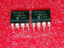 5PCS   MCP6002-I/P    MCP6002   DIP-8   Operational  Amplifie  IC
