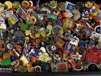 202 Huge Lot Vintage to Now Advertising Pinbacks Pins Mixed Antique Lapel Enamel
