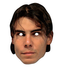 Rafael Nadal Celebrity 2D Card Party Face Mask Fancy Dress Tennis Star Champion