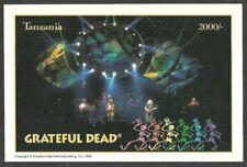 TANZANIA 1995 POP ROCK MUSIC GRATEFUL DEAD STAMP M/SHEET MNH