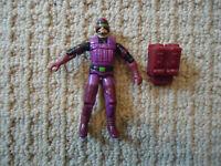 Vintage GI Joe S.A.W. Viper (V1) 1990 Hasbro Action Figure Cobra w/Backpack