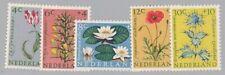 588) NETHERLANDS - NEDERLAND 738-742  FLOWERS 1960 SET POSTFRIS - MNH -