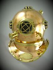 Taucherhelm Kupfer nautische Dekoration Messing antik Vintage Maritim Geschenk