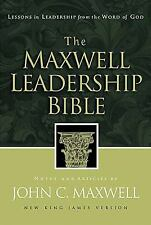 Maxwell Leadership Bible-NKJV : Lessons in Leadership from the Word of God (200…