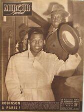 Miroir Sprint n°232 - 1950 - Ray Sugar Robinson - Rugby Bergerac - Le Bol d'Or