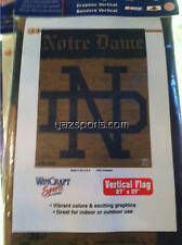 Notre Dame Fighting Irish Throwback N.D. Vertical Flag