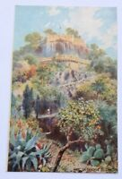 FRANCE NICE LA CASCAFE DU CHATEAU TUCK OILLETTE WIMBUSH POSTCARD UNUSED