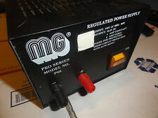 MG REGULATED 13.8 VDC POWER SUPPLY  4AMP / 6AMP peak PRO SERIES MODEL NO PS6