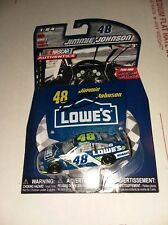 JIMMIE JOHNSON SIGNED LOWES 1/64TH AUTHENTICES