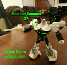 DSA G1 style Shoulder Cannons x2 for SIEGE: War for Cybertron PROWL