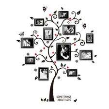 Removable Wall Sticker Photo Tree Decal Mural Living Room Bedroom Wall Stickers
