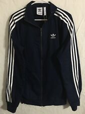 adidas Co Woven Navy Blue Track Top Jacket Mens Size Small NEW! DL8639