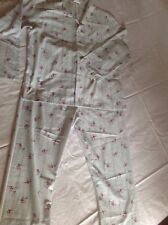 Vintage Retro Era 'Koala' Mens Long Cotton Blend Pyjamas size L