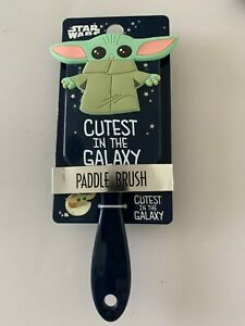 LADIES STAR WARS BABY YODA PADDLE BRUSH BRAND NEW PRIMARK