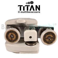 Ersatz Rad Lager Walze Recht Weiß Titan CADAP2BT05