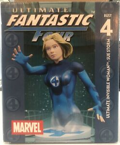 Marvel Ultimate Fantastic Four - Invisible Woman Mini Bust 11/2000
