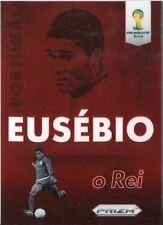 Panini Prizm World Cup 2014 Eusebio Tribute Chase Card
