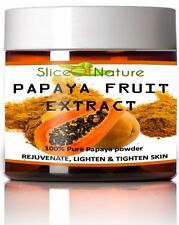 PAPAYA FRUIT EXTRACT POWDER, 100% Pure Papain Enzyme for Facial Mask 5 oz