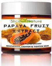PAPAYA FRUIT EXTRACT POWDER, 100% Pure Papain Enzyme for Facial Mask 5 oz